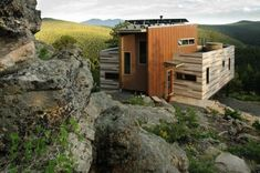 Shipping Container House - solar