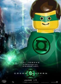 Lego Green Lantern Poster