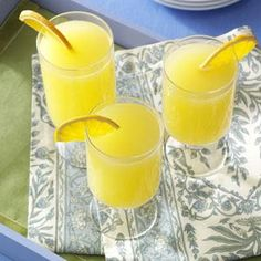 Mimosa Recipe from Taste of Home (Recipe for a pitcher of mimosas included)