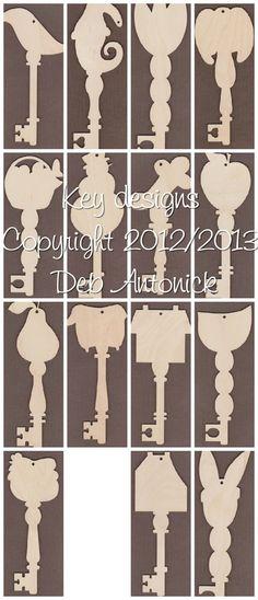 Key designs copyright 2012/2013 Deb Antonick.