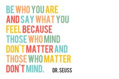 Dr. Seuss Freebie Quote perfect for #projectlife | Document Life Workshop Challenge | Use a Poem » Table For Five