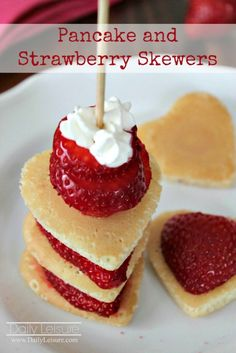 Pancake and Strawber