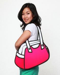 LOVE THIS!!!!  Jump From Paper First Date Bag - Pink