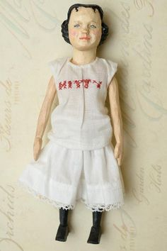 doll janet, artists, artist wood, ebay, hitti doll