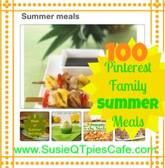 Family Summer Meals & blog linky party!