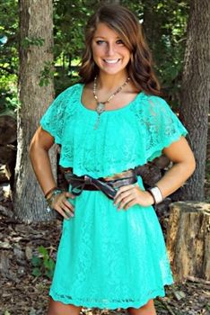 Sweet Melissa Dress in Mint! $46.99! #SouthernFriedChics