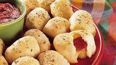 Stuffed Crust Pizza Snacks Recipe
