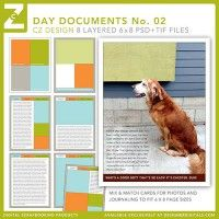 Day Documents Layered Templates No. 02