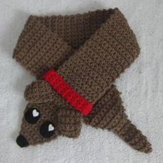more free pattern sausage dogs craftster blog crochet scarves crochet