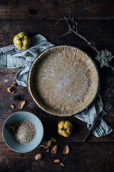 Winter food styling