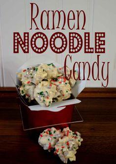 Ramen Noodle Candy