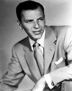 Frank Sinatra was a popular singer and actor.