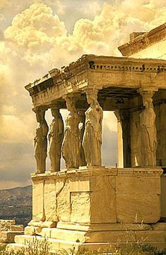 Porch of the Caryatids, Acropolis Athens