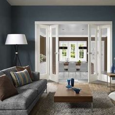 Try beautiful bi-fold doors instead of french doors