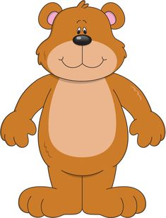 Weather Bear (or dress-up bear) with link to LOTS of weather and clothes clipart.