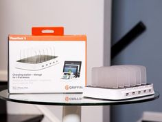 Griffin's PowerDock 5 is the ultimate charging station. It uses far less real estate than the average dock and it's capable of putting out 10 watts.