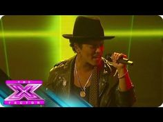 """Bruno Mars' """"Locked Out of Heaven"""" - THE X FACTOR USA 2012"""