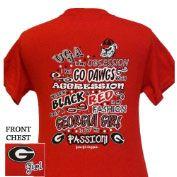 Georgia Bulldogs Obsession T-shirt