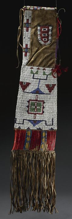 pipe bag, american indian
