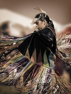 Fancy Shawl Dancer.