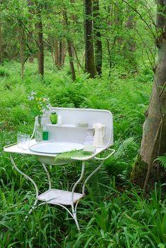 summer picnic, dream bathrooms, garden