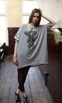 Winged T-Shirt - Plümo Ltd