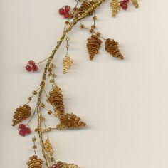 Autumn hair vine
