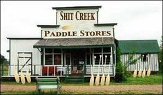 If you ever find yourself up shit creek without a paddle you can now rest assured that there's just the place for you!