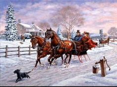 Sleigh Ride - Harry Connick, Jr. - Some folks were just born to sing Christmas Carols. Harry's one of them.