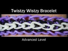 *NEW* Lesson 13: Twistzy Wistzy Bracelet by Rainbow Loom®