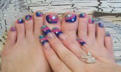 ***Matching toes*** by hollynails - Nail Art Gallery nailartgallery.nailsmag.com by Nails Magazine www.nailsmag.com #nailart