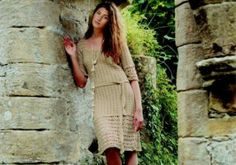Helon Dress free crochet dress pattern