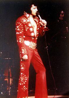 Elvis {Red Burning Love Jumpsuit} 1972