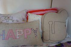 Decorative Pillow Kid pillow Children pillow Funny by diasdelana
