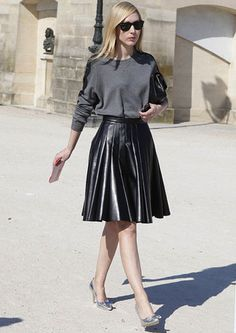 #leather #leatherskirt