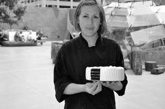 """Dessert goddess. – Caitlin Freeman's New Recipe Book, """"Modern Art Desserts"""""""