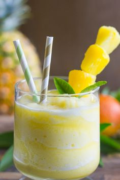 Skinny Pineapple Orange Slush