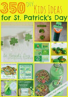 350 DIY St Patricks Day Ideas for Kids