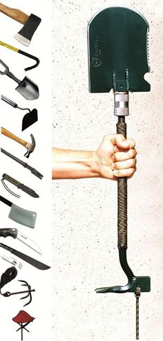 The crovel. All these tools in 1 - as seen on TV on the prepper shows. This company has sold tons of these and feedback has been great. Worth checking out.