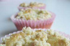 Äppelmuffins med smulpaj