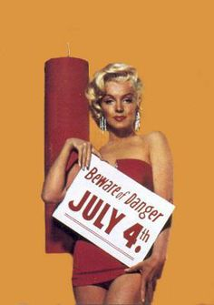 Marilyn Monroe - 4th of July