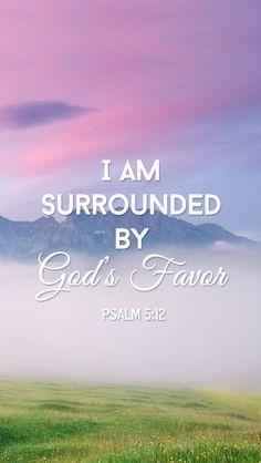 Bible verse ~ Psalm 5:12
