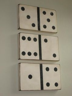 wall art, the game, wall decor, game rooms, wallart, game room decor, diy art, domino art, basement
