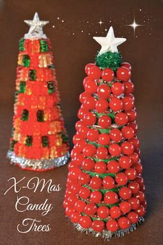 Christmas Candy Trees #WMTMoms
