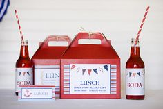 Party Box Lunch idea