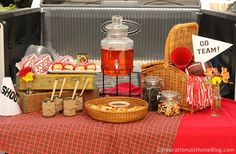 Football tailgating party #tailgating #football_party