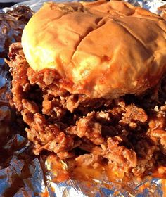 Odom's BBQ beef brisket sandwich certainly lives up to the hype. #Dallas