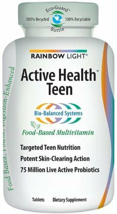 rainbow light active health teen multivitamin food based tablets 90. Black Bedroom Furniture Sets. Home Design Ideas
