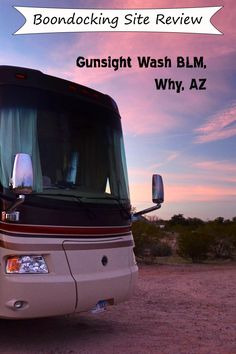 Review of an excellent and easy free camping BLM area by Why, AZ #why #boondocking #Ajo #organpipe #camping #freecamping #RV