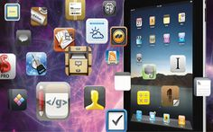 65+ iPad Apps gathered by a school system for their use